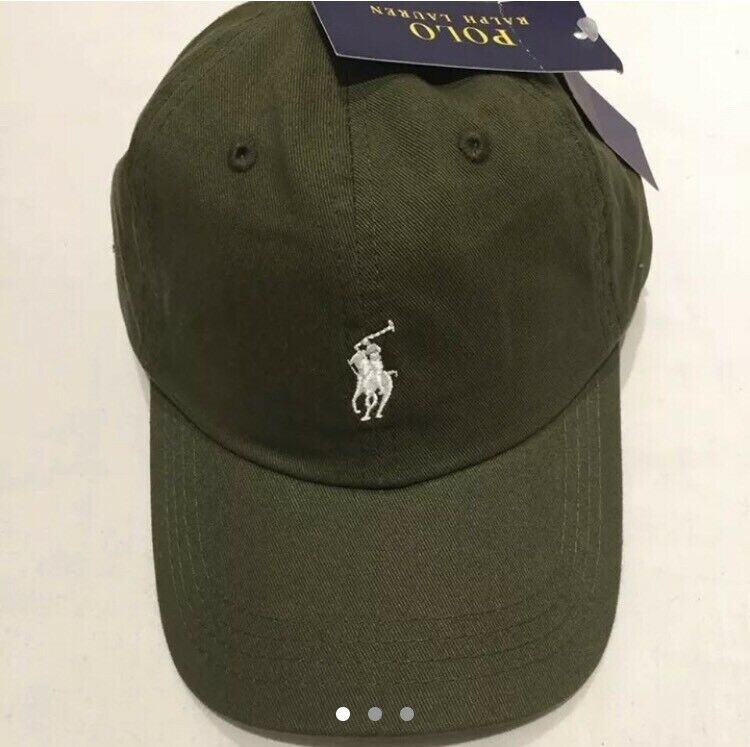 01e1634d90e brand new with tags khaki polo ralph lauren cap