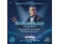 Michael Buble - 4 Seated Tickets