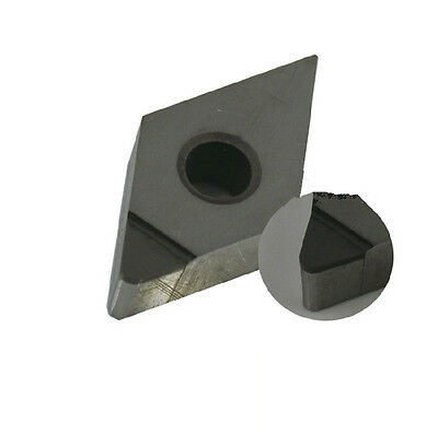 2pc Pcd Insert Dnmg110404 Polycrystalline Diamond Pcd-tipped 1-edge Dnmg331