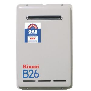 Rinnai Builders 26L NG hot water system service Dural Hornsby Area Preview