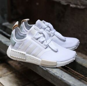 Adidas-Original NMD R1 white-teal sand West End Brisbane South West Preview