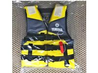 Outdoor rafting yamaha life jacket for children and adult swimming snorkeling