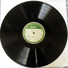 """VERY RARE ACETATE 12"""" Record BBC TV - River Flows East 1962 JG1 Blacktown Area Preview"""