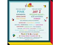 2 x V Festival tickets Weston Park Staffordshire full weekend including camping