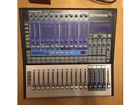 Mixing desk (mixer) Presonus Studio Live 16.0.2 for sale, excellent condition.