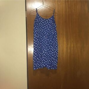 Blue dress size large used pick up only