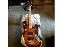 Revelation RBN bass guitar (upgraded)