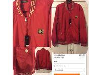 Versace jacket not polo armani stone island