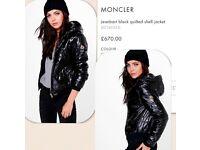 Ladies moncler jacket not mk chanel polo armani versace