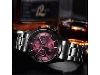 BOSCK Casual Mens Business Watch