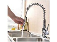 Vapsint chrome kitchen sink mixer tap