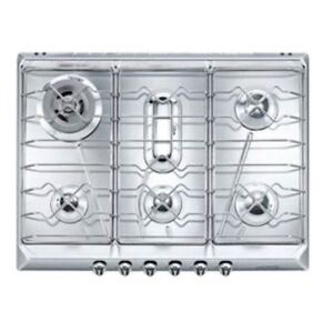 Smeg 30 inch stainless steel gas cooktop Brand New