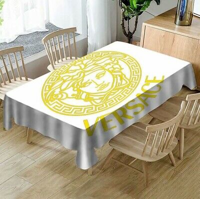 Versace luxery 3D printed table cloth