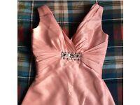 Full length prom/bridesmaid dress (size 6/8)