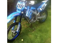 Tm racing mx 250f 2008 motocross motorcross bike not ktm or husqvarna