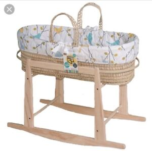Moses Basket with Stand - Bassinet - Jolly Jumper