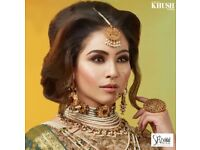 Indian bridal makeup/Asian bridal makeup/bridal makeup/arabic makeup