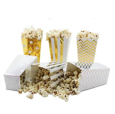 Mini Popcorn Bags (36/108pcs Gift Paper Popcorn Boxes Hollywood Movie Cinema Mini Party Favor)