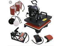 New digital combo heat press machine
