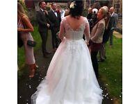 Ivory/off white wedding dress
