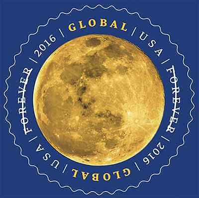 Scott #5058 The Moon - Global Forever Rate - 2016 Mint NH Single