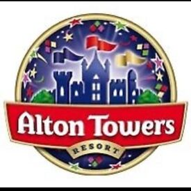 Alton Towers 2x tickets very cheap £30