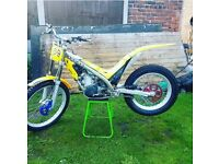 Gas gas 125cc 2002 trials bike