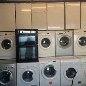 Washing machines Fridge freezers freestanding cookers up to 12 month warranty