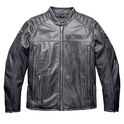 Harley-Davidson Men's Midway Distressed Leather Jacket 98108-16VM