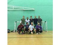 5-a-side football, Hackney (Mondays 8:30-9:30pm)
