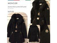Ladies moncler jacket not polo mk chanel armani polo