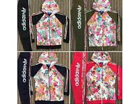 Women's girls kids floral fashion tracksuits jogging suits wholesale bulk next day delivery