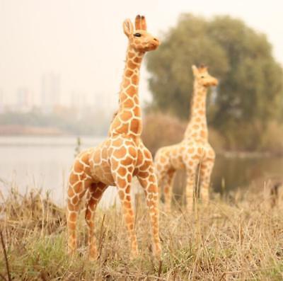 40''/100cm Giraffe Doll Big Plush Giant Large Soft Stuffed Animal Gifts for - Stuffed Giraffes