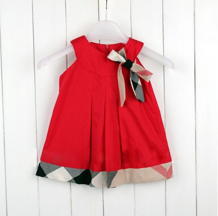 Modernes kariertes  Mädchenkleid Karokleid  A-Form  neu Gr. 74, 86, 92, 98, 104