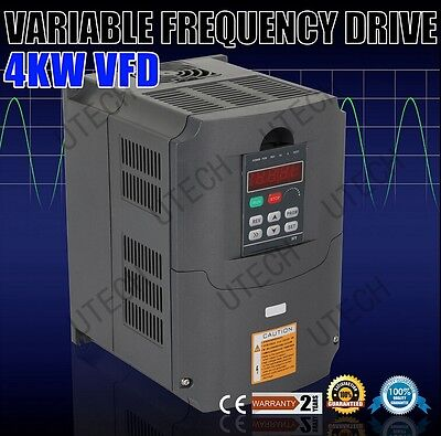 Cetop Quality 4kw Variable Frequency Drive Inverter Converter Vfd New 5hp220v