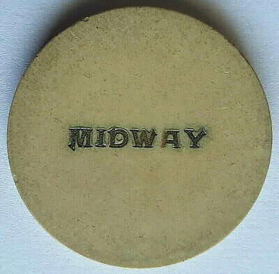 """Midway Casino """"SMALL LETTERS"""" Was On Boulder Highway PITTMAN NEVADA Casino Chip"""