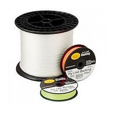 20 lb Test WHITE Cortland Micron Fly Line Backing 100 to 2,500 Yd Spools