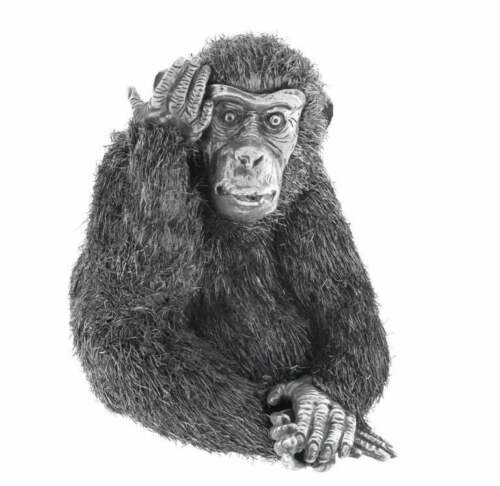 Mario Buccellati Silver Monkey