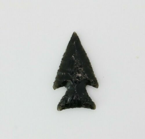 TED ORCUTT NORTHWEST COAST OBSIDIAN FLINT EXOTIC POINT - RARE - CIRCA 1900