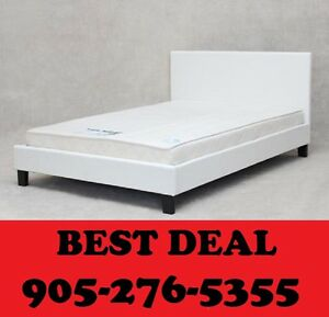 ***********Faux Leather Bed Single, Double OR Queen $199********