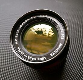 Sony manual lens for filming