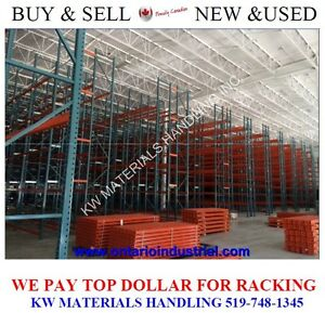 WE BUY PALLET RACKING & SHELVING.KW'S SOURCE FOR STORAGE RACKS. Kitchener / Waterloo Kitchener Area image 2