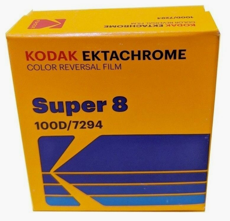 KODAK EKTACHROME SUPER 8 100D COLOR REVERSAL FILM / 7294 *BR