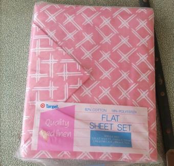 Vintage single sheet set