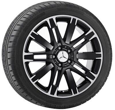 Mercedes-Benz original Alufelge schwarz 8,5x19 ET56 10-Speichen-Rad