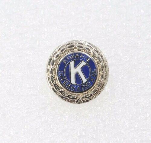 Vintage Kiwanis International Silver Tone Lapel Pin Service Club HH17