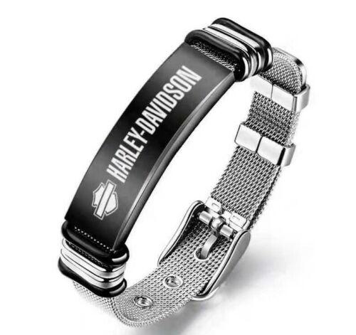Harley Davidson Stainless Steel Bracelet Motorcycle Bracelet