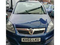 Vauxhall zafira 1.6 petrol 80k 12 mot ICARS 165 PRESCOT ROAD Fairfield L7 0LD
