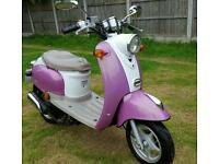 50cc moped runs and rides needs tlc see notes. Can deliver