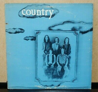 COUNTRY - S/T 1971 US Clean Orig LP Rare Underrated Psych Folk Country Rock NM